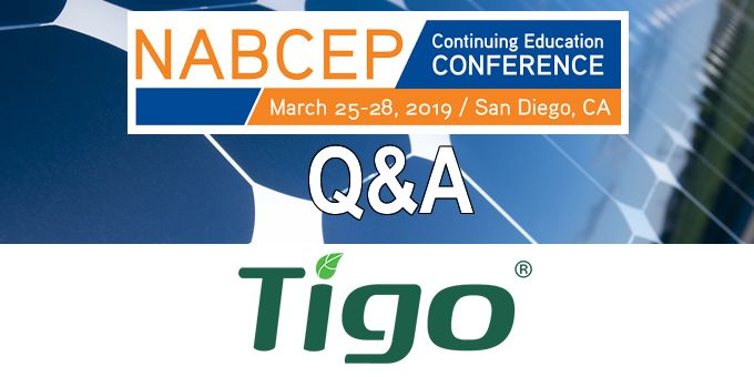 Q&A with Tigo Energy, The NABCEP Continuing Education Conference