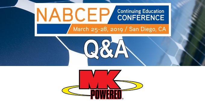 Q&A with MK Battery, The NABCEP Continuing Education Conference