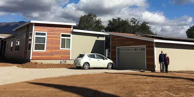 Prefab Modular Home Maintained Power When Grid Went Down