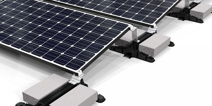 POWER MAX™ Ballasted Roof Mounting System