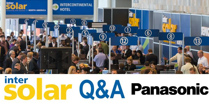 INTERSOLAR and looking ahead to 2020 - Q&A with Panasonic