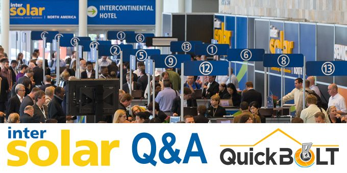 INTERSOLAR and looking ahead to 2020 - Q&A with QuickBOLT