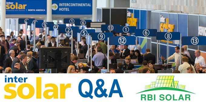 INTERSOLAR and looking ahead to 2020 - Q&A with RBI Solar