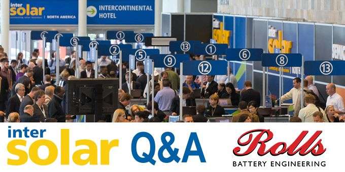 INTERSOLAR and looking ahead to 2020 - Q&A with Rolls Battery