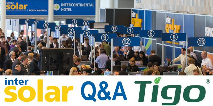 INTERSOLAR and looking ahead to 2020 - Q&A with Tigo