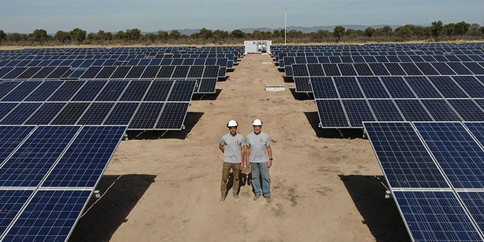 Cattle Ranch Beefs Up Savings with Solar Energy