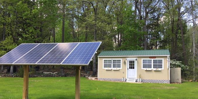 The First Koolbridge Solar™ Smart Load Center™ (SLC) Built Finds a Home in an Off-Grid Cabin.