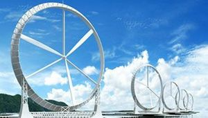 Japanese Breakthrough in Wind Turbine Design