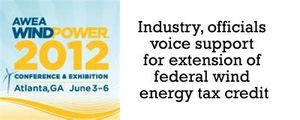 Live from #WP12: Industry, officials voice support for extension of federal wind energy tax credit