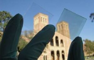 Researchers create transparent solar cell