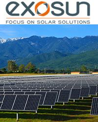 Exosun - Exotrack® HZ, the LCOE friendly single-axis solar tracker