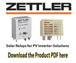 ZETTLER New Energy Solutions - Solar Relays for PV Inverter-Solutions
