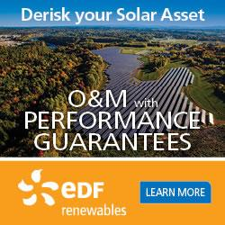 EDF RENEWABLES OFFERS O&M SOLUTIONS WITH PERFORMANCE GUARANTEES