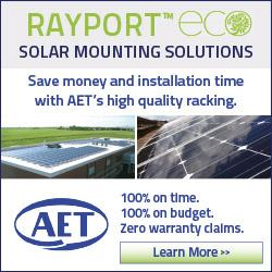 AET's solar mounting ECO series - Designed to put more money back in your pocket...