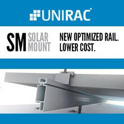 UNIRAC - New Optimized Rail. Lower Cost