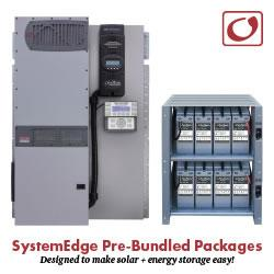 OutBack Power - Radian series Inverter/Charger and Integrated Battery Rack