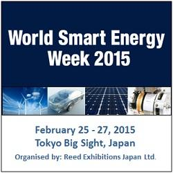 World Smart energy Week 2015 - Japan�s Largest PV Industry Event!