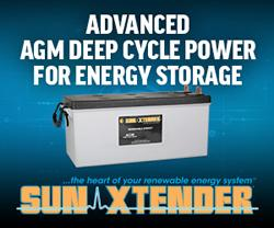 Sun Xtender® Deep Cycle AGM Batteries