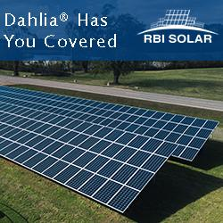 RBI Solar - Dahlia Has You Covered