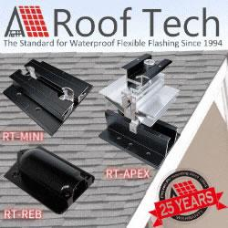 Roof Tech Webinars - PV Mounting in Asphalt and Metal Roofs