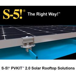 S-5!® PVKIT™ 2.0 Solar Rooftop Solutions