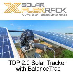 Solar FlexRack - TDP 2.0 Solar Tracker with BalanceTrac