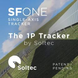 SOLTEC – SF8 SINGLE-AXIS TRACKER