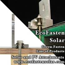 EcoFasten Solar is proud to present Green-Fasten