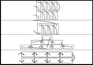 Split-cell Wiring Methods