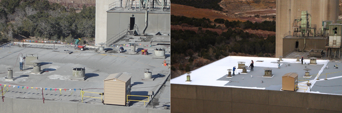 The Elastomeric Roof Coating Synchronizes The Roof Service Life With The  Solar Power Production Life, Without Re Roofing. Roof Coatings Can Be  Applied To ...